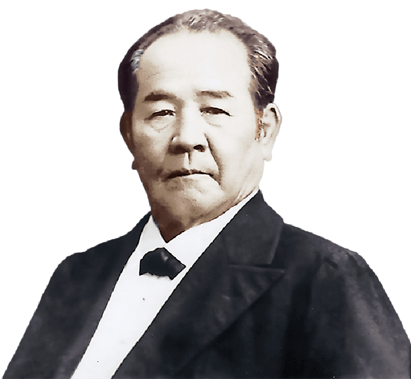 渋沢栄一肖像画